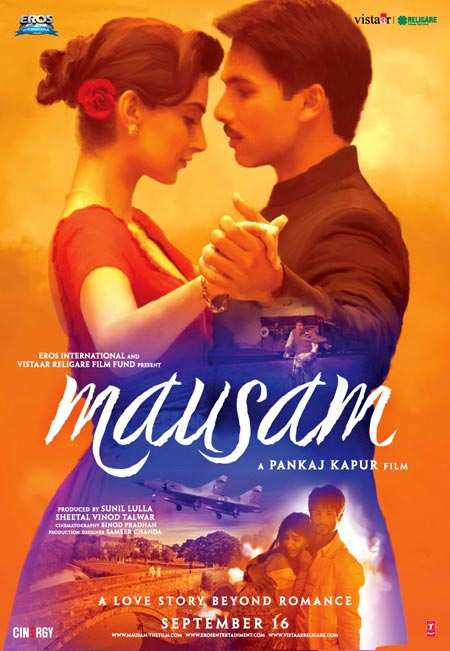 Movie poster of Mausam