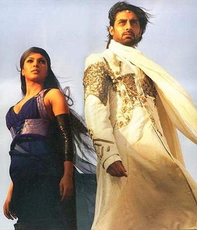 Priyanka Chopra and Abhishek Bachchan in Drona