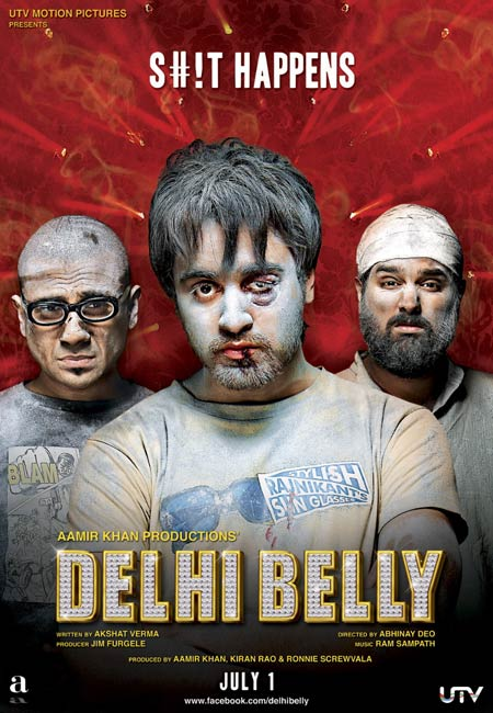 Movie poster of Delhi Belly