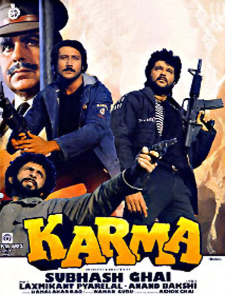 Movie poster of Karma