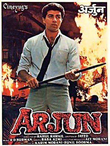 Movie poster of Arjun