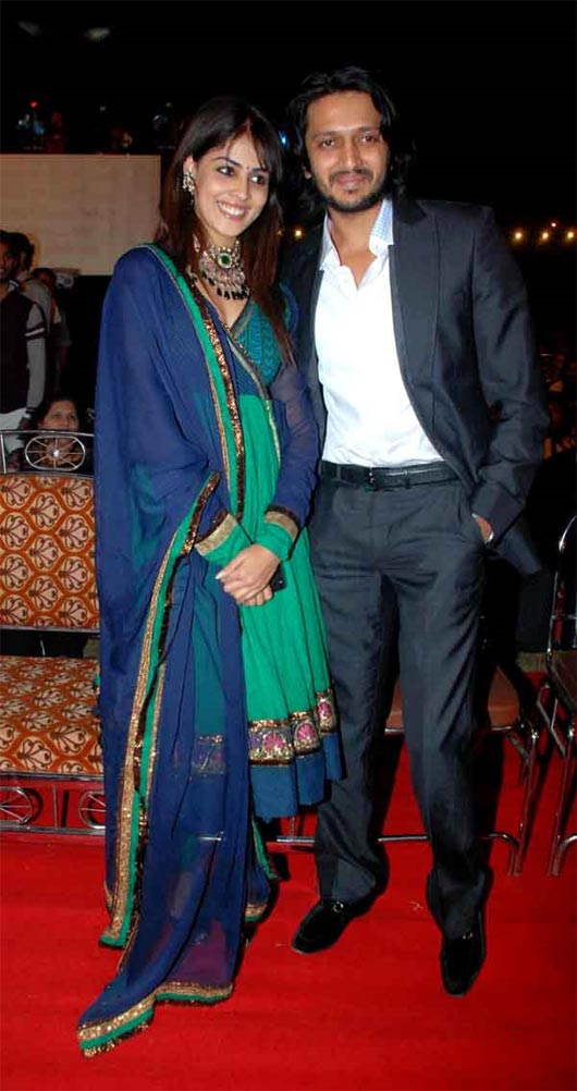Genelia D'Souza and Riteish Deshmukh