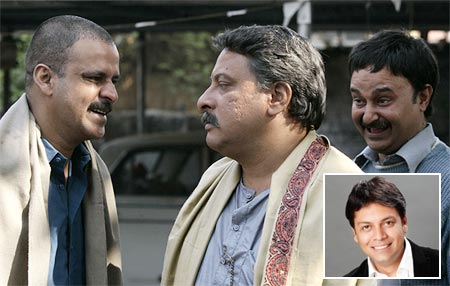 A scene from Gangs of Wasseypur. Inset: Syed Zeishan Quadri