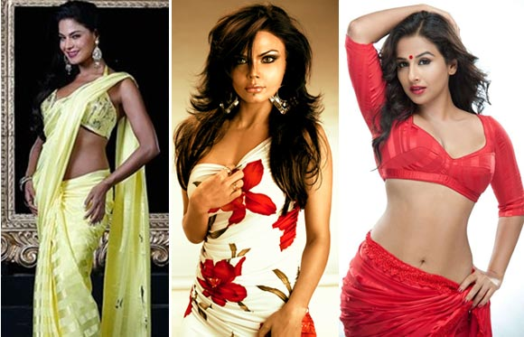 Vote! The SEXIEST Silk Smita: Veena, Rakhi or Vidya