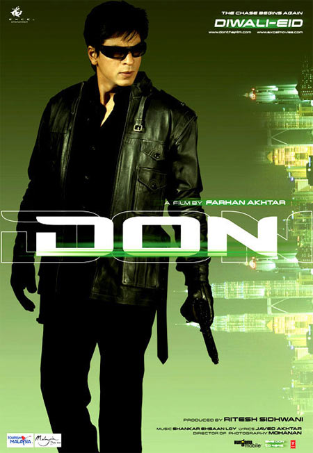 Movie poster of Don: The Chase Begins Again