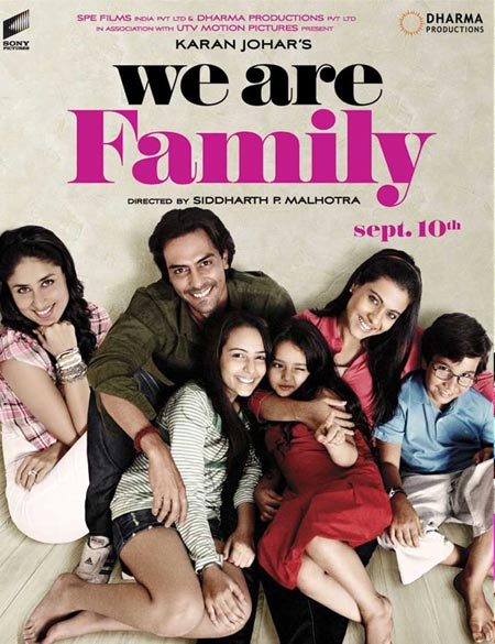 Movie poster of We Are Family