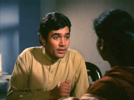 Rajesh Khanna in Anand.