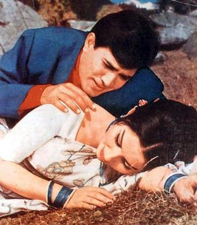 A scene from Aradhana