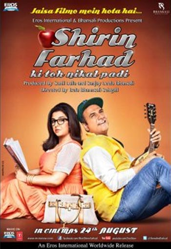 Movie poster of Shirin Farhad Ki Toh Nikal Padi