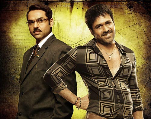 Abhay Deol and Emraan Hashmi in Shanghai