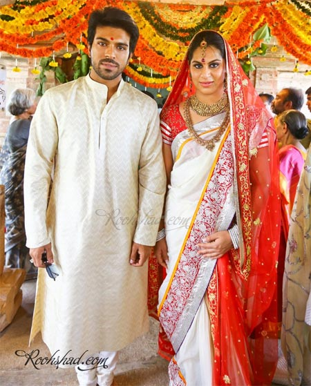 Ram Charan Teja and Upasana Kamineni