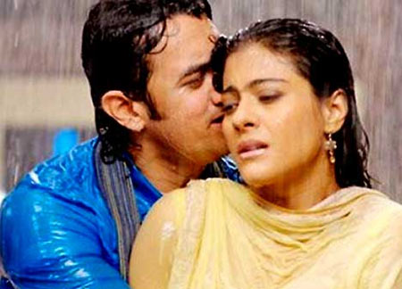 Aamir Khan and Kajol in Fanna