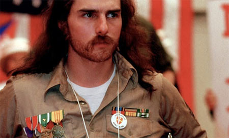 Tom Cruise in Born of the Fourth of July