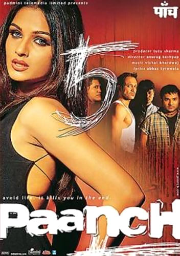 Movie poster of Paanch