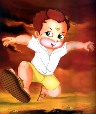 A scene from Return of Hanuman