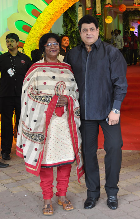 Gajendra Chouhan and wife