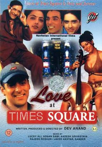 Movie poster of Love At Times Square