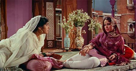 A still from <i>Pakeezah</i>