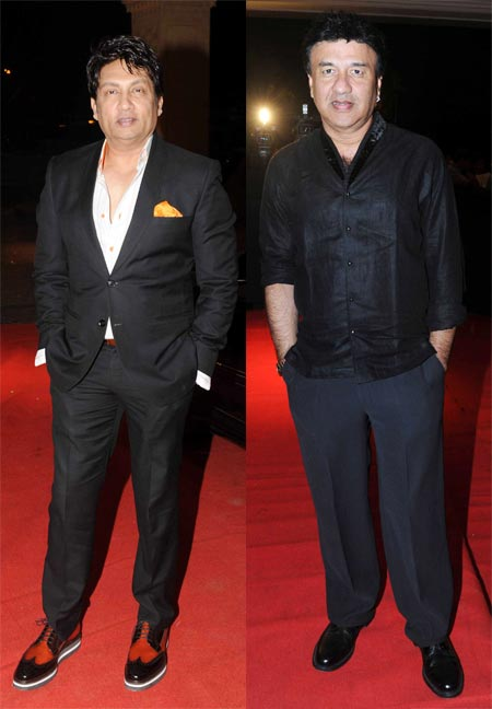 Shekhar Suman and Anu Malik