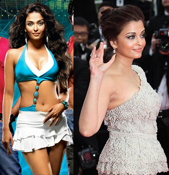Aishwarya Rai in Dhoom and in Cannes