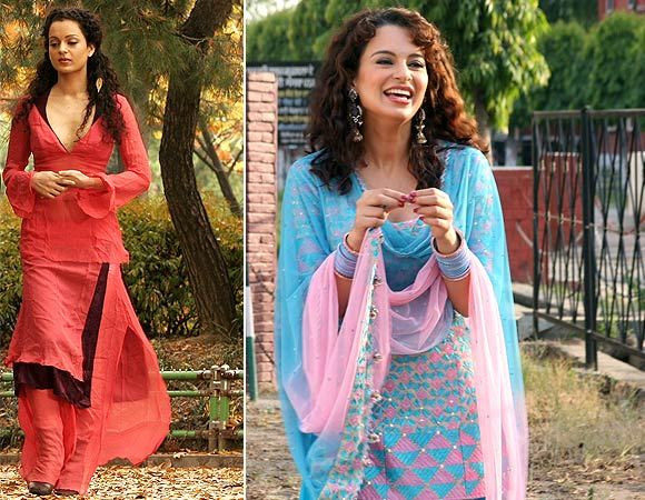 Kangna Ranaut in Gangster and Tanu Weds Manu