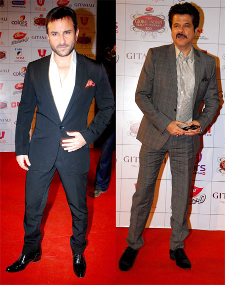 Saif Ali Khan and Anil Kapoor