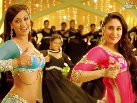 Maryam and Kareena Kapoor in Agent Vinod