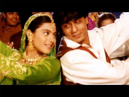 A scene from Dilwale Dulahnia Le Jayenge