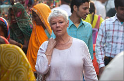 A scene from The Best Exotic Marigld Hotel