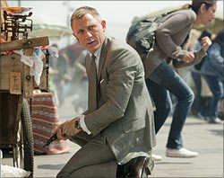 A scene from Skyfall