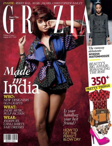 Lisa Haydon on Grazia