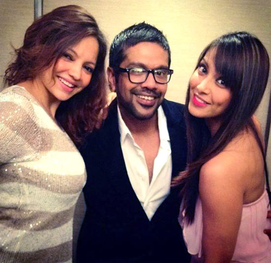 Deanne Panday, Rock S and Bipasha Basu