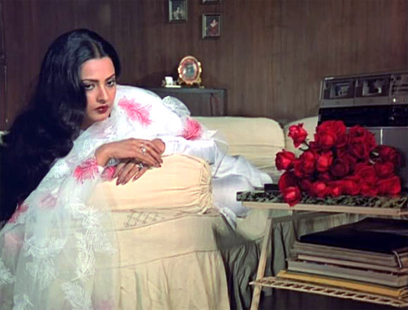 Rekha in Silsila