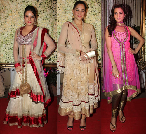 Udita Goswami, Rakshanda Khan and Monica Bedi