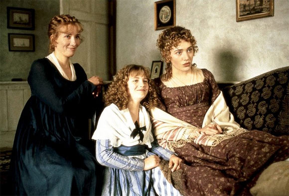 A scene from Sense and Sensibility