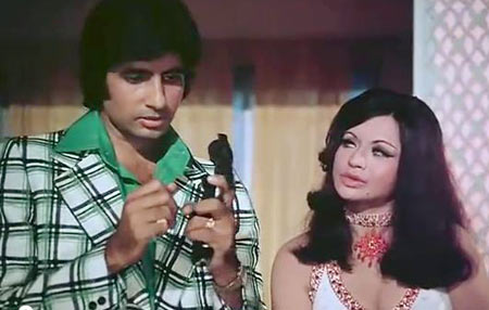 Amitabh Bachchan and Helen in Don