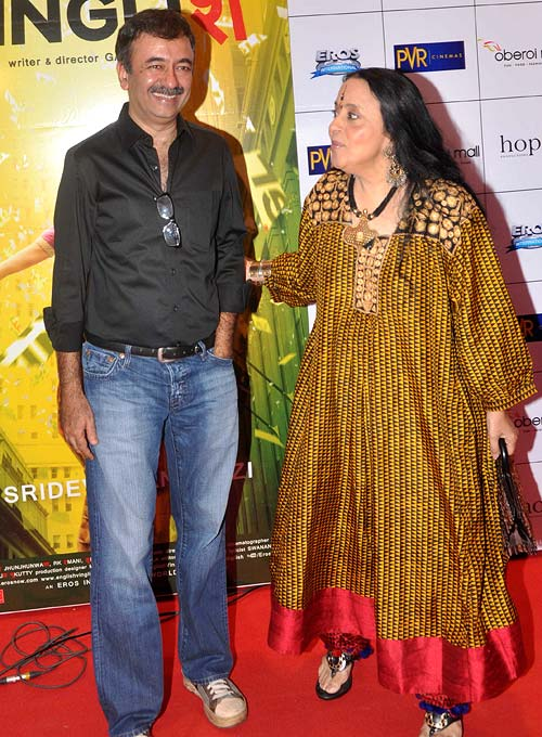 Rajkumar Hirani and Ila Arun