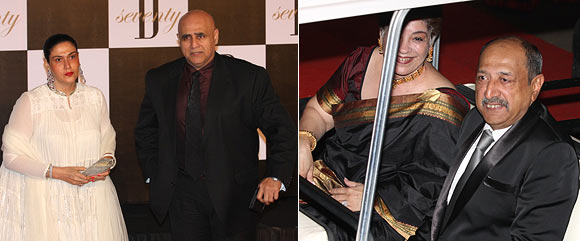 Puneet Issar and Tinnu Anand