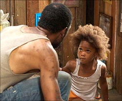 A scene from Beasts of The Southern Wild