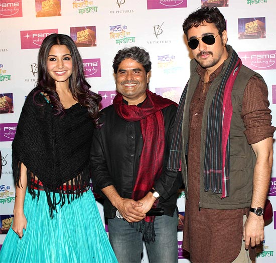 Anushka Sharma, Vishal Bhardwaj and Imran Khan