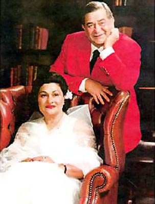 Raj and Krishna Kapoor