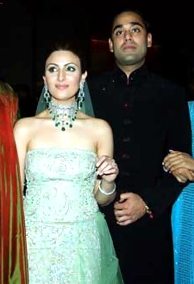 Riddhima Kapoor and Bharat Sahani