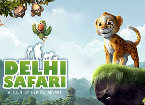 Movie poster of Delhi Safari