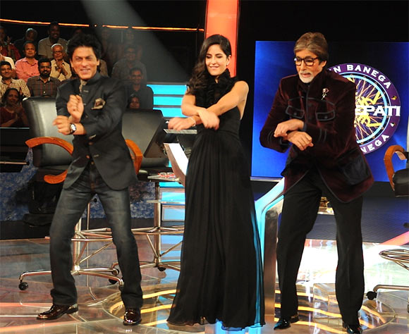 SRK, Katrina, Big B do 'Gangnam' style on KBC