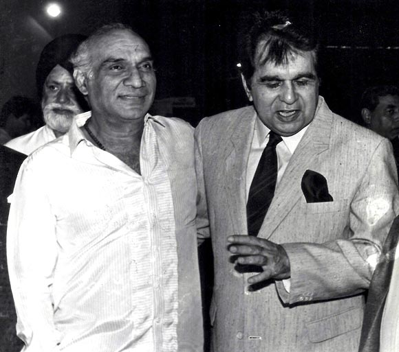 Yash Chopra and Dilip Kumar