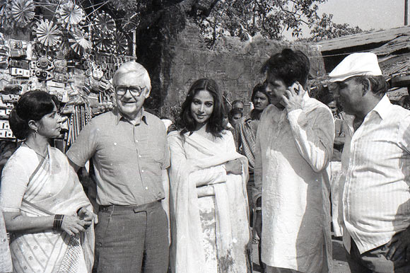 Waheeda Rehman, Robert Wise, Rati, Dilip Kumar and Yash Chopra