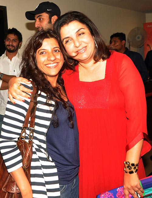 Zoya Akhtar and Farah Khan