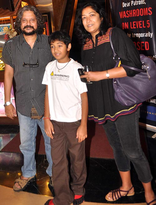 Amol Gupte, Partho and Deepa Bhatia