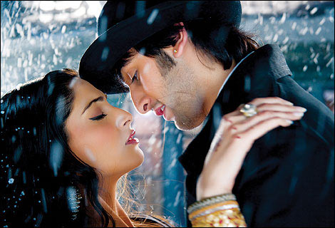 Sonam Kapoor and Ranbir Kapoor in Saawariya