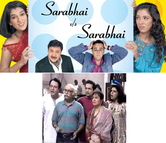 Sarabhai Vs Sarabhai (Top) and Dekh Bhai Dekh